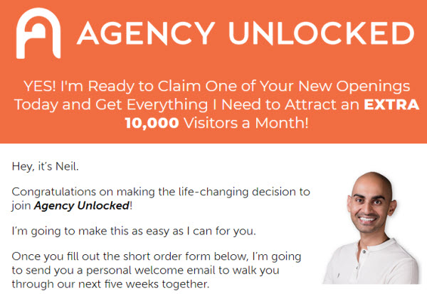 Neil Patel - Agency Unlocked 2